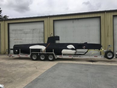 Marlin 32 Diesel Electric S-101 Manned Submarine, 32', for sale - $80,000