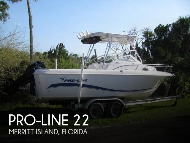 2004 Pro-Line boat for sale, model of the boat is 22 Walkaround & Image # 1 of 40