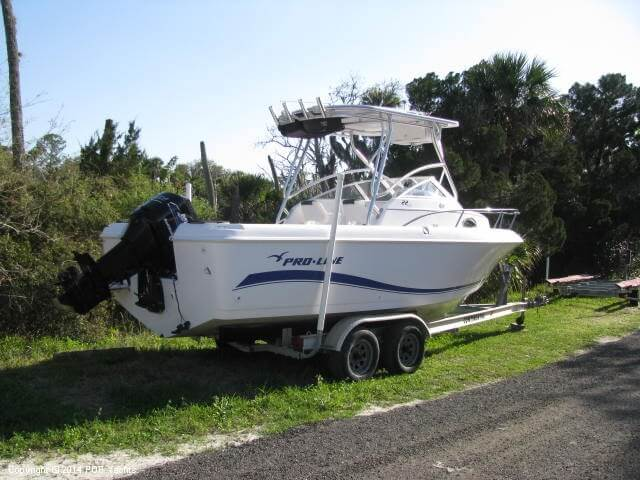 2004 Pro-Line boat for sale, model of the boat is 22 Walkaround & Image # 5 of 40