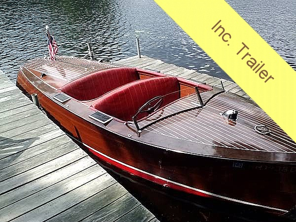 1938 Chris-Craft 17 Deluxe Runabout - Photo #2