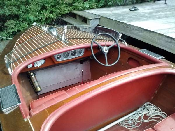 1938 Chris-Craft 17 Deluxe Runabout - Photo #4