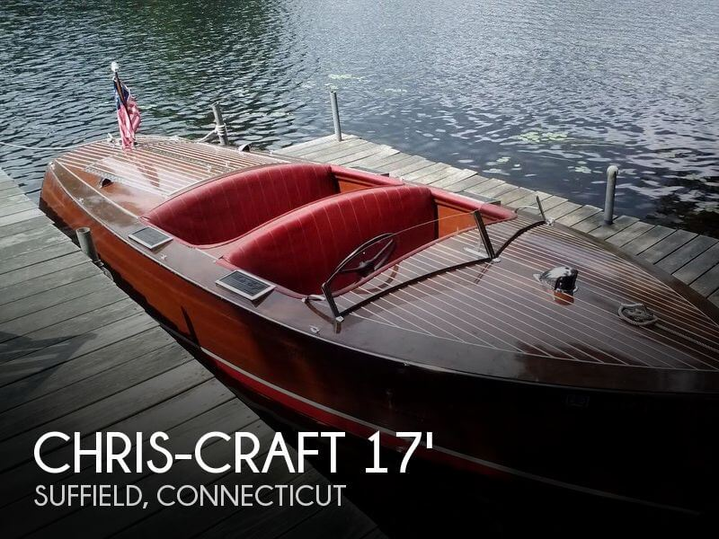 1938 CHRIS CRAFT 17 DELUXE RUNABOUT for sale