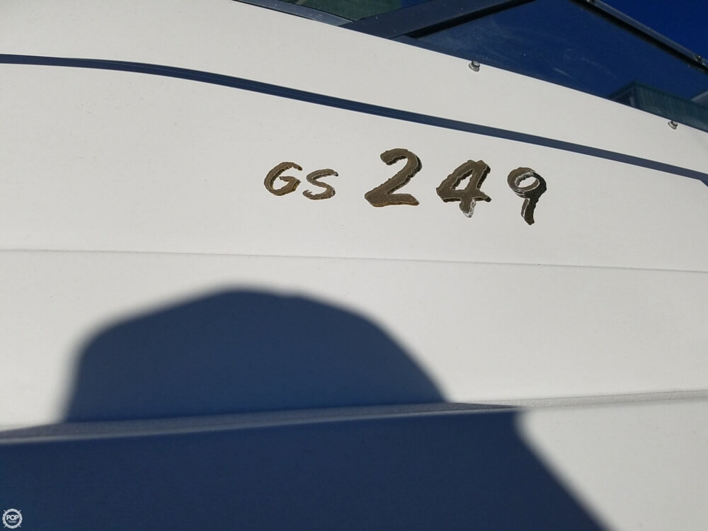 2002 Glastron boat for sale, model of the boat is GS 249 & Image # 26 of 40