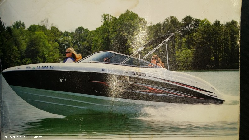 2008 Yamaha boat for sale, model of the boat is 210 SX & Image # 34 of 41