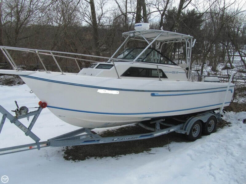 1984 Aquasport boat for sale, model of the boat is 250 XF & Image # 12 of 40
