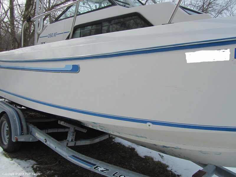 1984 Aquasport boat for sale, model of the boat is 250 XF & Image # 31 of 40