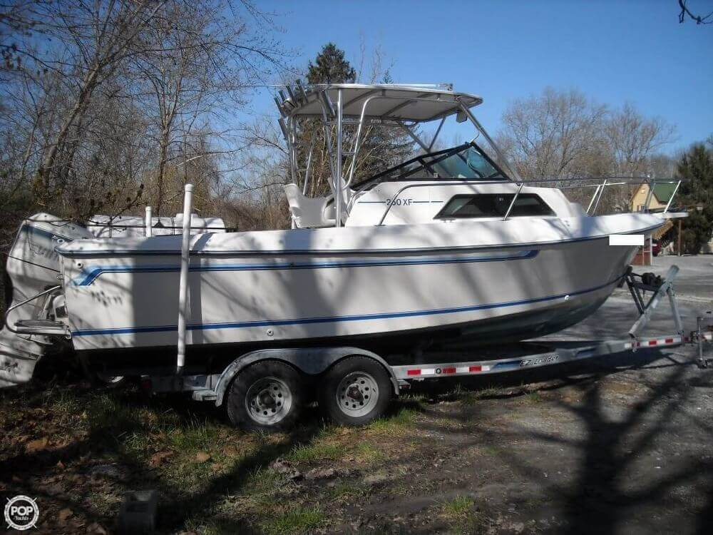 1984 Aquasport boat for sale, model of the boat is 250 XF & Image # 8 of 40