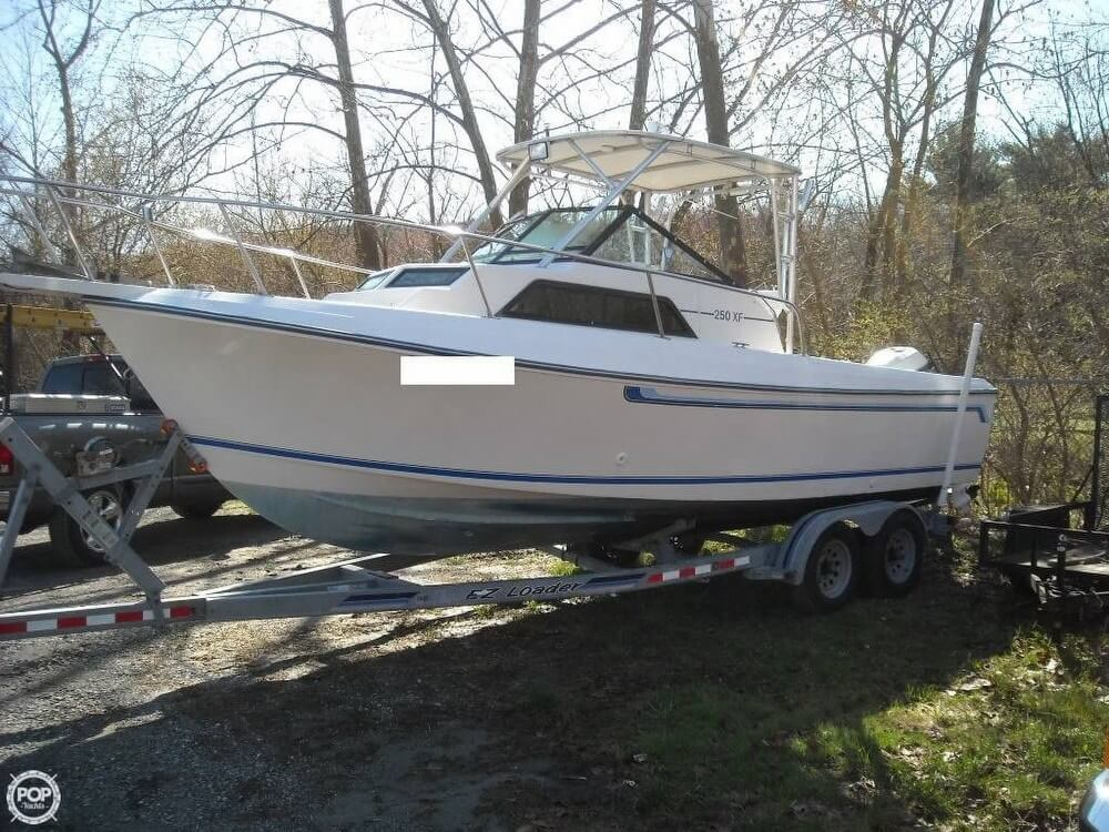 1984 Aquasport boat for sale, model of the boat is 250 XF & Image # 2 of 40