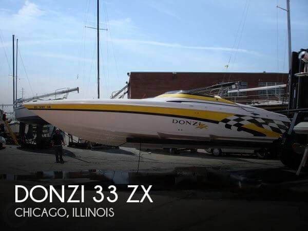 2001 Donzi 33 ZX