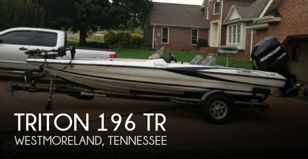 2006 TRITON 196 TR for sale