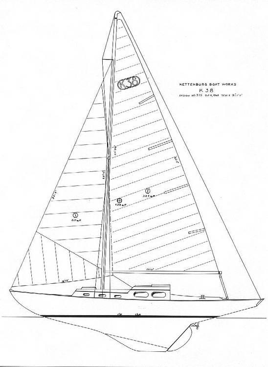 1956 Kettenburg boat for sale, model of the boat is K38 & Image # 22 of 40