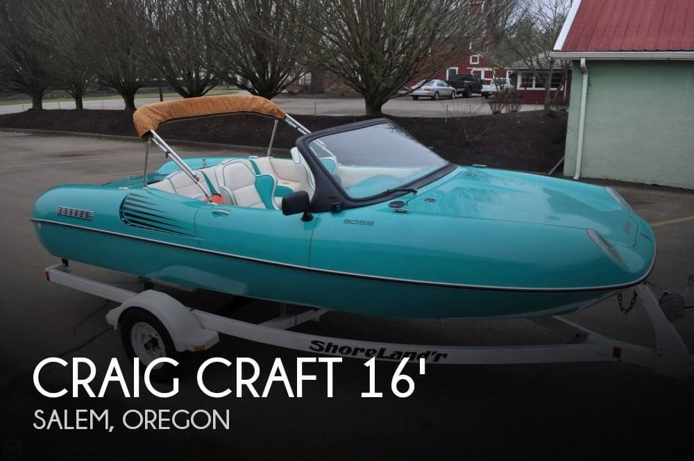 Craig Craft 168 Boss for sale in Salem, OR for $18,500 | POP Yachts