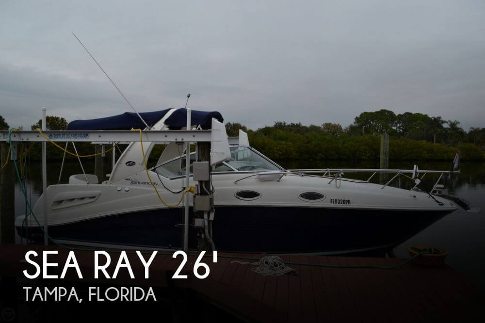 For Sale Used 2006 Sea Ray 260 Sundancer In Tampa Florida