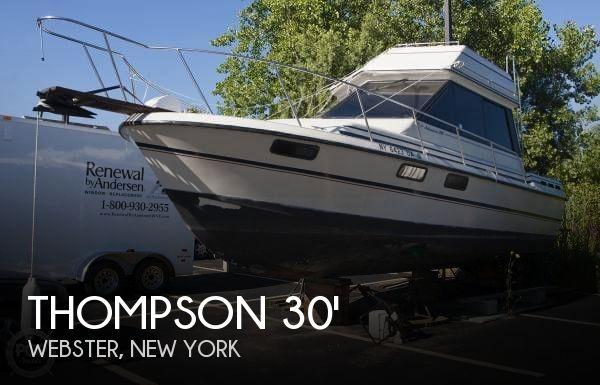 1989 Thompson 288 Adventurer - Photo #1