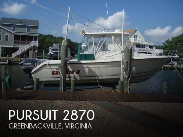 1998 PURSUIT 2870 for sale