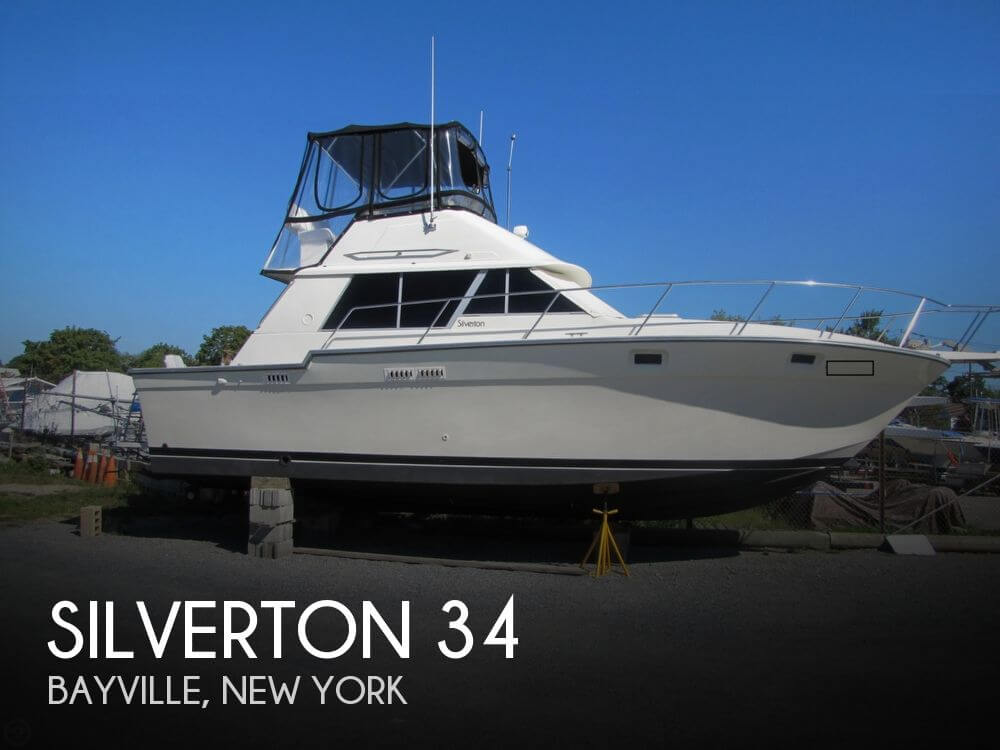 For Sale Used 1986 Silverton 34 In Bayville New York