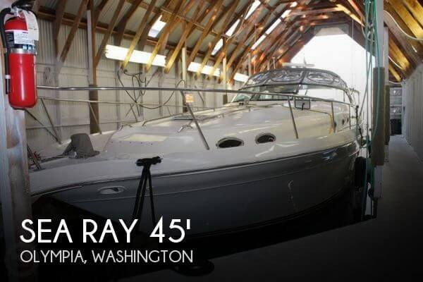 1996 SEA RAY 450 SUNDANCER for sale