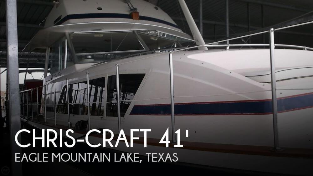 1979 Chris-Craft 410 Commander