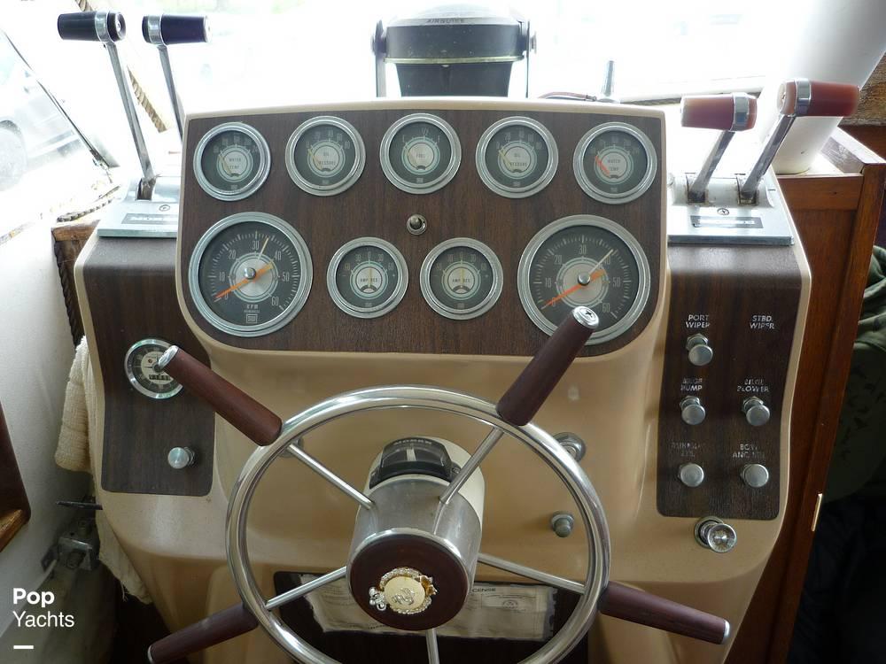 1971 Uniflite boat for sale, model of the boat is 31 Sport Sedan & Image # 39 of 40