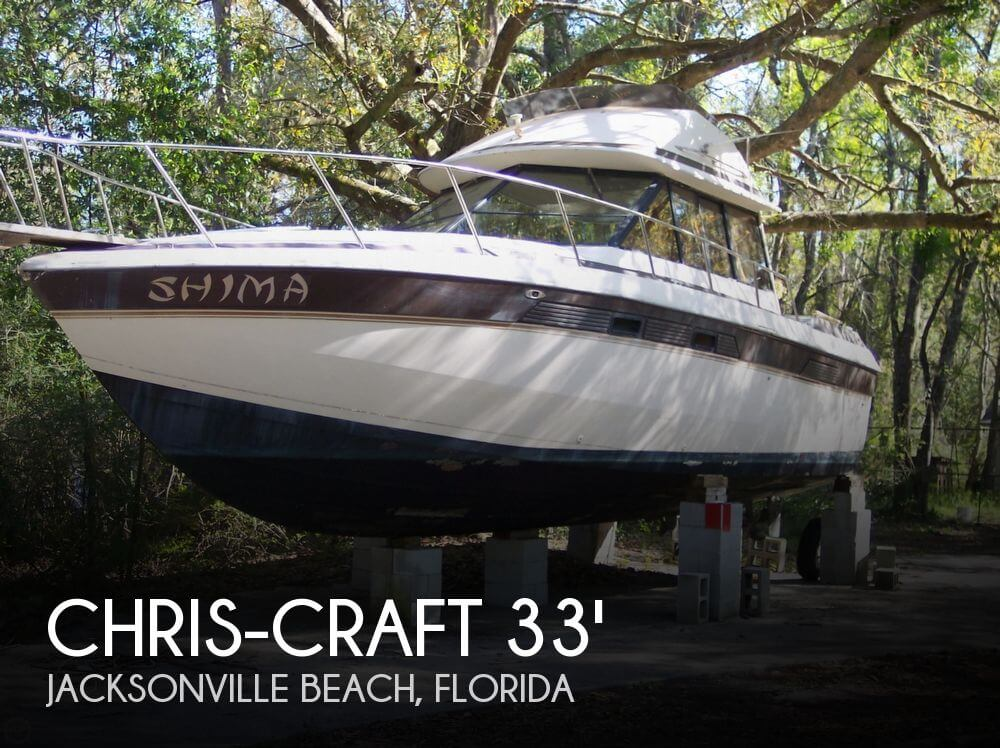 1981 Chris-Craft 333 Sedan Bridge - Photo #1