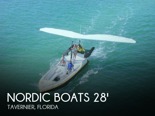 1992 Nordic Tugs boat for sale, model of the boat is 28 Ascender Parasail / Hang-Gliding Vessel & Image # 1 of 40