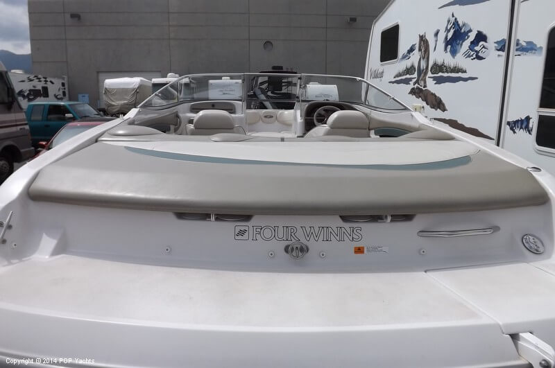 1999 Four Winns boat for sale, model of the boat is 220 Horizon & Image # 38 of 40