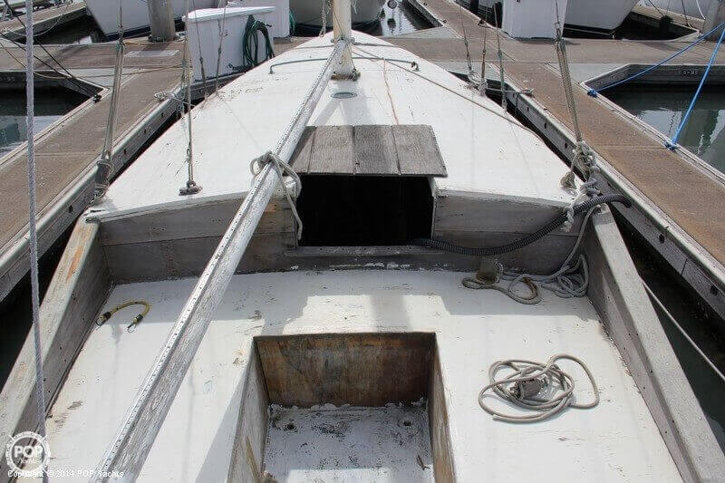 1938 Custom boat for sale, model of the boat is 30 San Francisco Bird Boat & Image # 19 of 33
