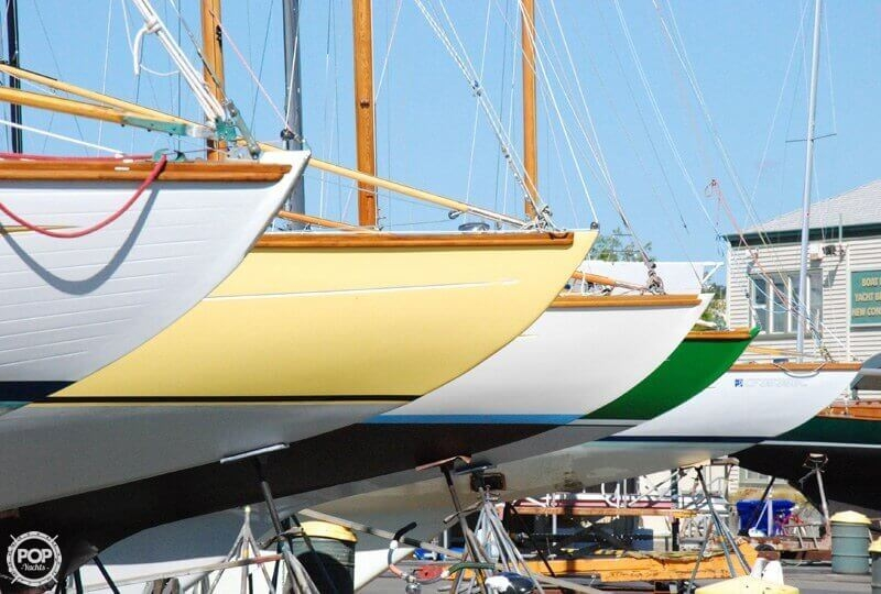 1938 Custom boat for sale, model of the boat is 30 San Francisco Bird Boat & Image # 28 of 33