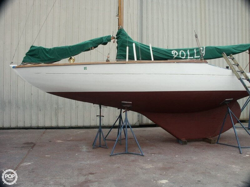 1938 Custom boat for sale, model of the boat is 30 San Francisco Bird Boat & Image # 32 of 33