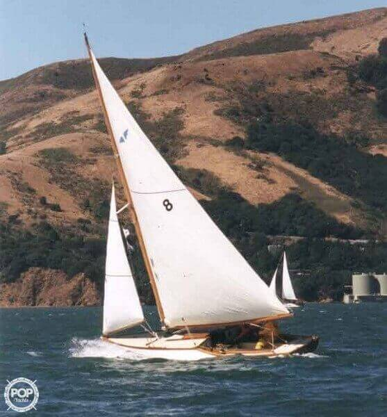 1938 Custom boat for sale, model of the boat is 30 San Francisco Bird Boat & Image # 33 of 33