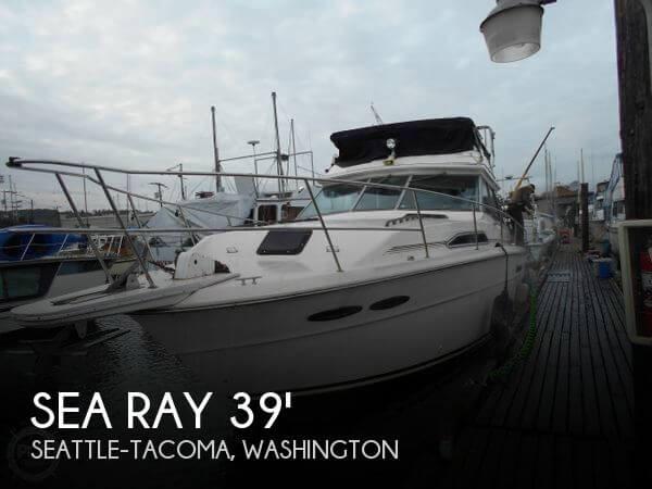 1986 Sea Ray 390 Sedan Sport Fish - Photo #1