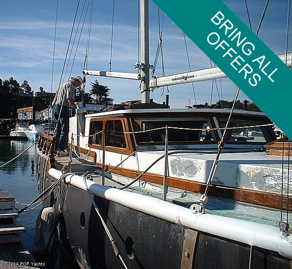 1973 Samson 54 Ketch - Photo #2