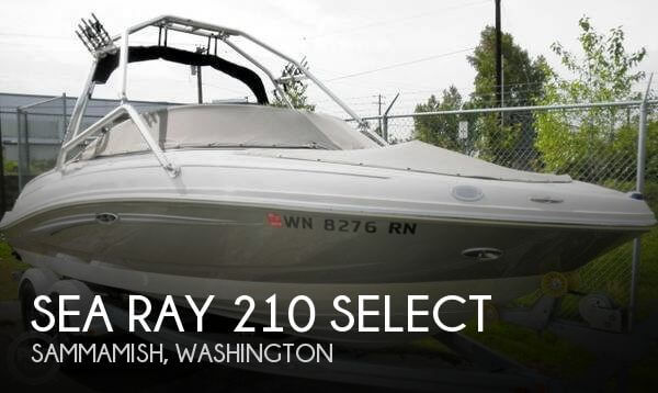2009 SEA RAY 210 SELECT for sale