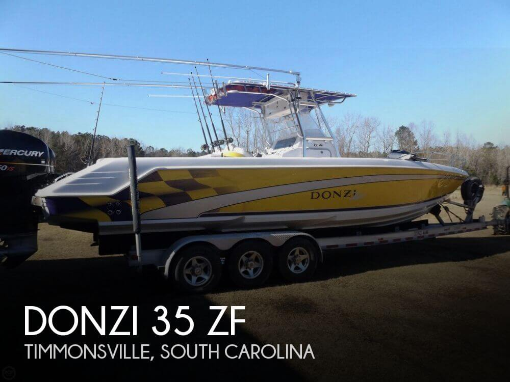 Used DONZI Boats For Sale by owner | 2004 Donzi 35 ZFC