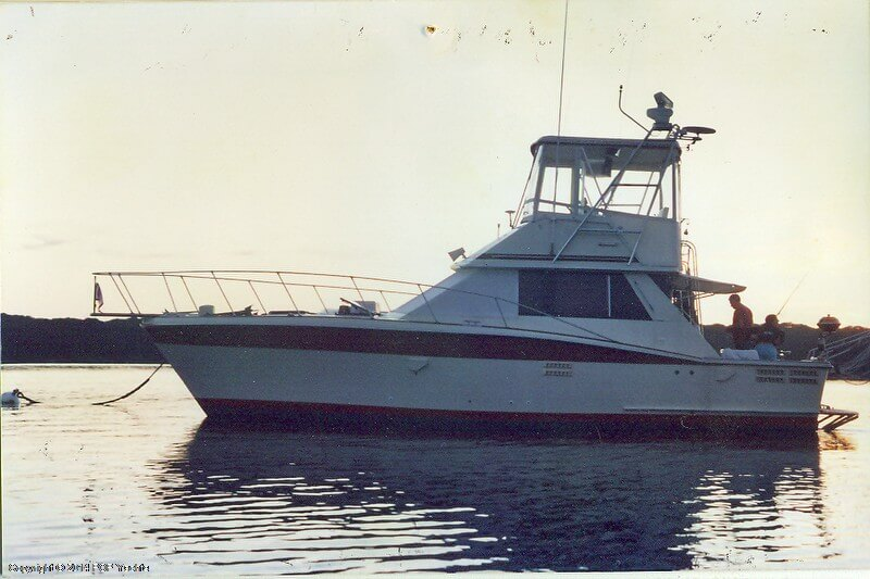 1983 Trojan boat for sale, model of the boat is 36 Flybridge Convertible & Image # 4 of 40