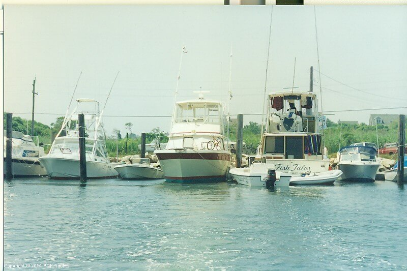 1983 Trojan boat for sale, model of the boat is 36 Flybridge Convertible & Image # 7 of 40