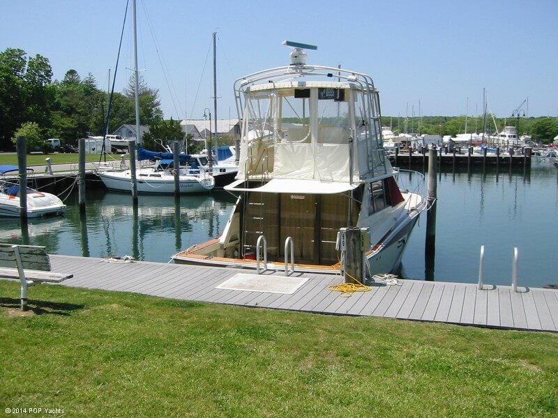 1983 Trojan boat for sale, model of the boat is 36 Flybridge Convertible & Image # 8 of 40