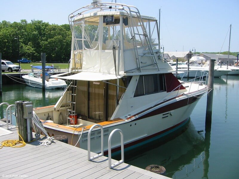 1983 Trojan boat for sale, model of the boat is 36 Flybridge Convertible & Image # 3 of 40