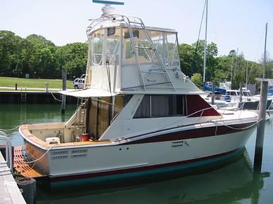 Trojan 36 Flybridge Convertible, 36', for sale - $51,850