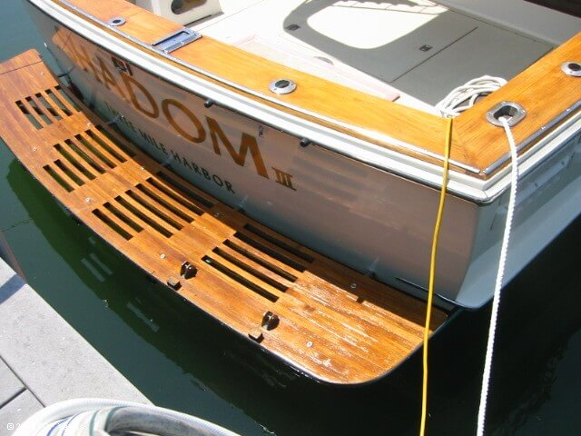 1983 Trojan boat for sale, model of the boat is 36 Flybridge Convertible & Image # 10 of 40