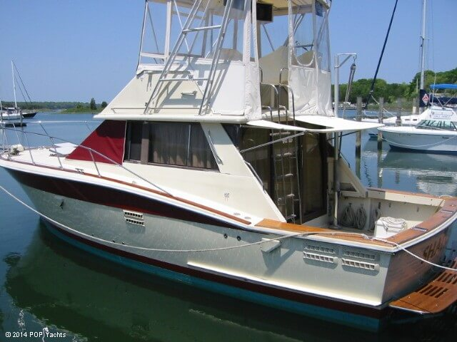 1983 Trojan boat for sale, model of the boat is 36 Flybridge Convertible & Image # 2 of 40