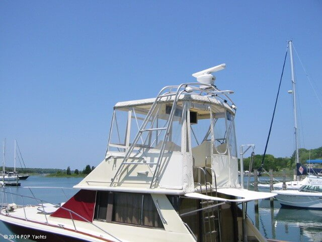 1983 Trojan boat for sale, model of the boat is 36 Flybridge Convertible & Image # 13 of 40