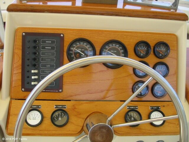 1983 Trojan boat for sale, model of the boat is 36 Flybridge Convertible & Image # 23 of 40