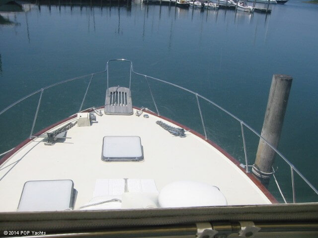 1983 Trojan boat for sale, model of the boat is 36 Flybridge Convertible & Image # 30 of 40