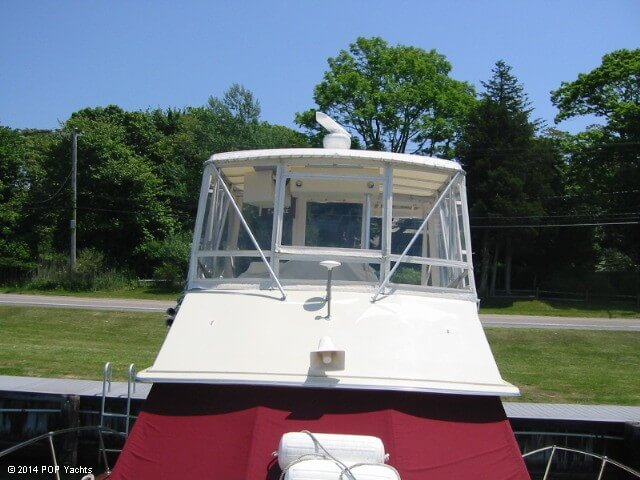 1983 Trojan boat for sale, model of the boat is 36 Flybridge Convertible & Image # 34 of 40
