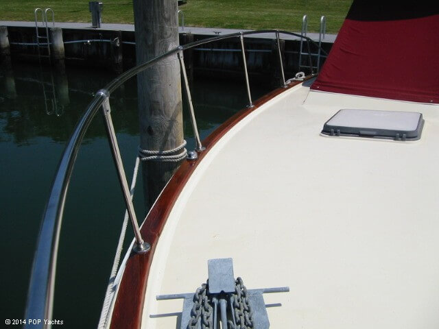 1983 Trojan boat for sale, model of the boat is 36 Flybridge Convertible & Image # 40 of 40