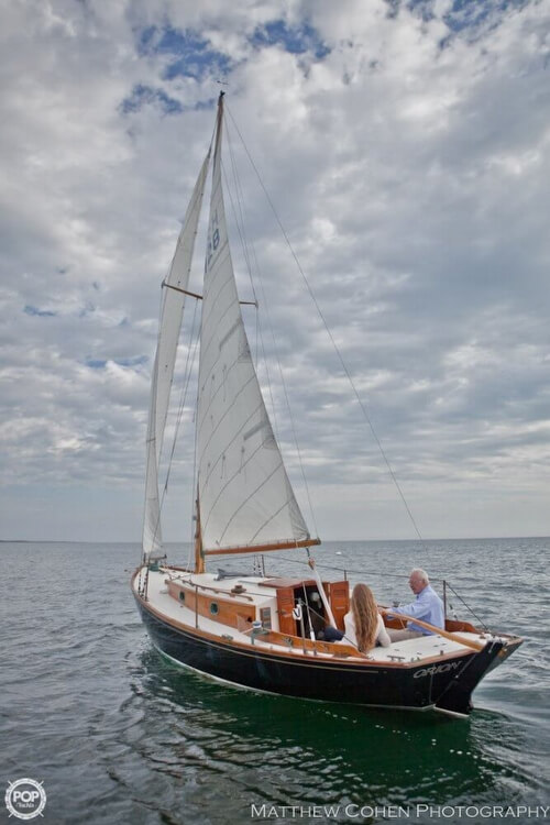 1978 Herreshoff boat for sale, model of the boat is 28 & Image # 3 of 40