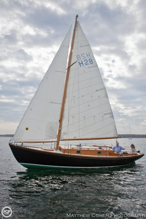 1978 Herreshoff boat for sale, model of the boat is 28 & Image # 4 of 40