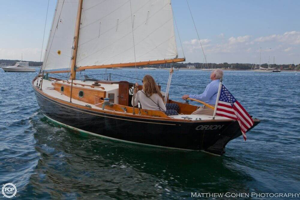 1978 Herreshoff boat for sale, model of the boat is 28 & Image # 5 of 40