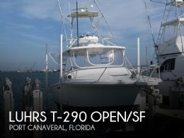 1993 Luhrs T-290 Open/SF